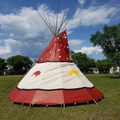 Tipi Joe work sample